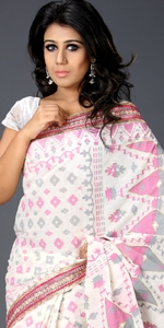 Cotton Saree with Karchupi  Cotton Saree with Karchupi, Andy Silk, ND Silk, Endy Silk, Bangladeshi Andy Silk Saree, Bangladesh Saree, eshop, Bangladeshi eShop Saree, Dhakai Jamdani Saree, Eid Collection 2014, Saree, Sharee, Sari, Bangladeshi Saree
