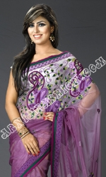 2013 Shade Net Saree